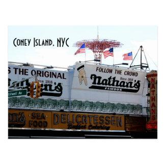 コニーアイランド、NYC ポストカード