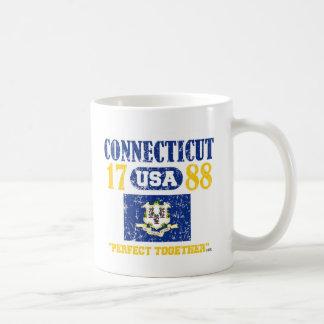 コネチカットの完全な一緒に動揺してなプロダクト コーヒーマグカップ