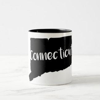 コネチカットの州のツートーンマグ ツートーンマグカップ