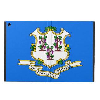 コネチカットの旗との愛国心が強いipadの場合 iPad airケース