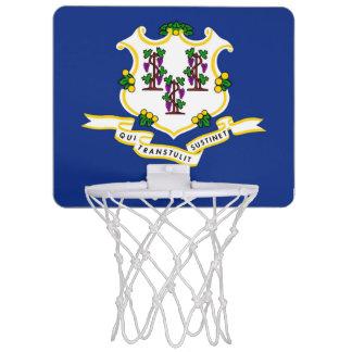 コネチカットの旗 ミニバスケットボールゴール