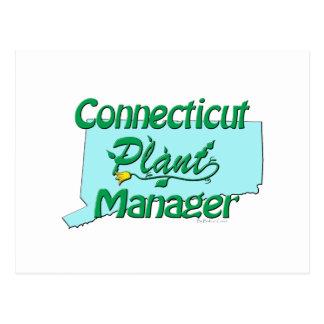 コネチカットの植物マネージャー ポストカード