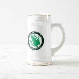 コネチカットの行く緑のカエル ビールジョッキ
