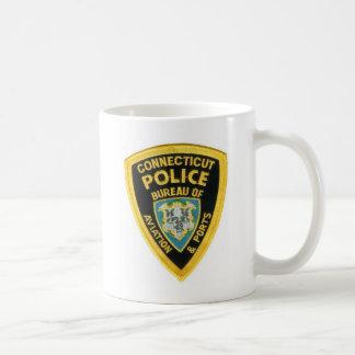 コネチカットの警察 コーヒーマグカップ