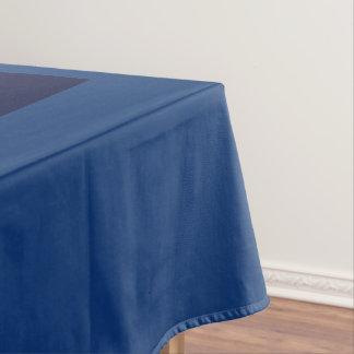 コバルトのクールで青い無地海軍パネルだけ テーブルクロス