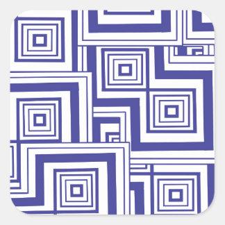 コバルトのパズル スクエアシール