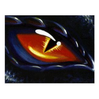 コバルトの目 ポストカード