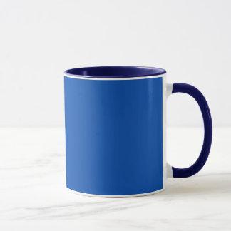 コバルトブルーのコンボのマグ マグカップ