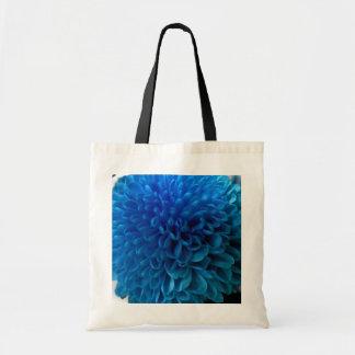 コバルトブルーの花のマクロトートバック トートバッグ