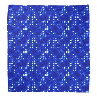 コバルトブルーの《写真》ぼけ味の星座 バンダナ