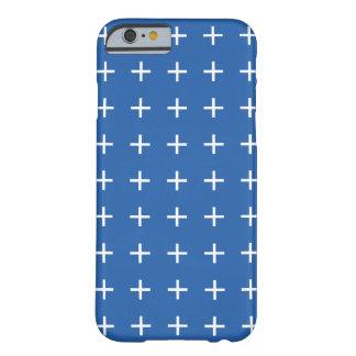 コバルトブルーのiPhone 6つのケース- Scandiの上品 Barely There iPhone 6 ケース