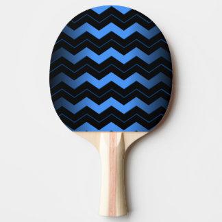 コバルトブルーシェブロン 卓球ラケット