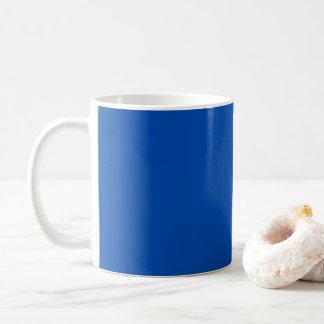 コバルトブルー コーヒーマグカップ