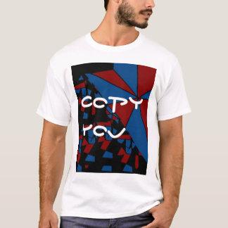 コピーして下さい Tシャツ