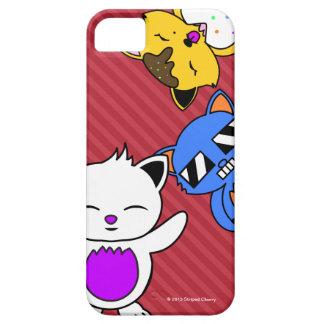 コピーの猫ちゃん- iPhのための電話箱 iPhone SE/5/5s ケース