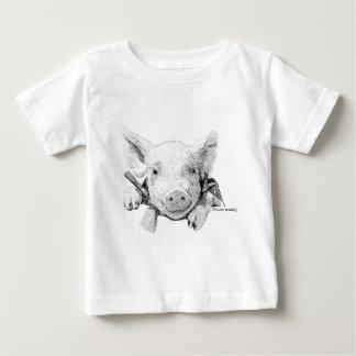 コブタ ベビーTシャツ