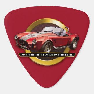 コブラ427の赤 ギターピック