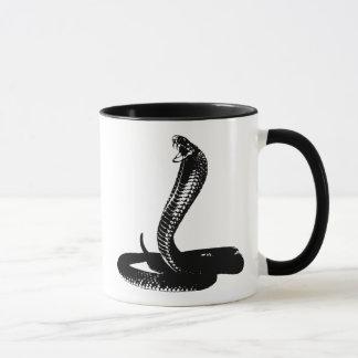 コブラ-黒 マグカップ