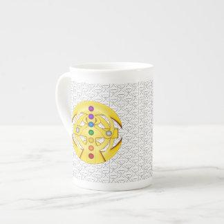 コプトのスタイルを作られた十字 ボーンチャイナカップ