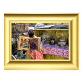 コプトの正統の福音、エチオピア ポストカード