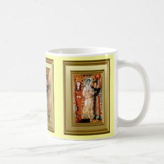 コプトの聖者のIkon コーヒーマグカップ