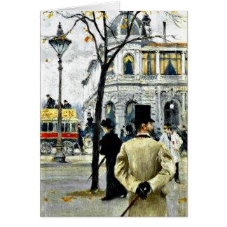 コペンハーゲンからの場面; ポールギュスターブFischerの芸術 カード