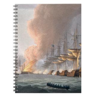 コペンハーゲンの前のデンマークの艦隊の破壊、 ノートブック