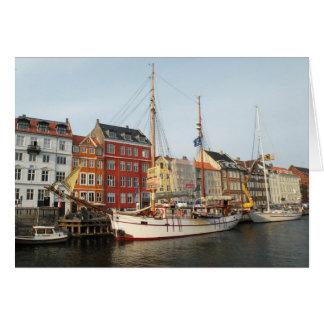 コペンハーゲンの船 カード