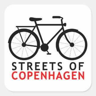 コペンハーゲンの通り スクエアシール