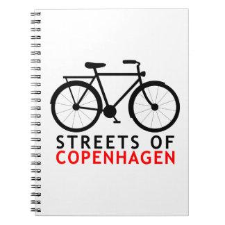 コペンハーゲンの通り ノートブック