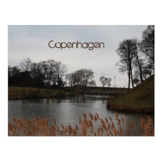 コペンハーゲンの郵便はがき ポストカード