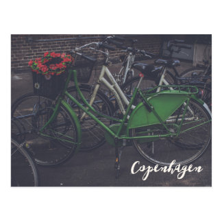コペンハーゲンデンマークの自転車の郵便はがき ポストカード