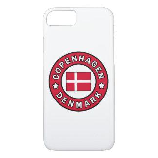 コペンハーゲンデンマークの電話箱 iPhone 8/7ケース