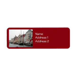 コペンハーゲン運河(Nyhavn) ラベル