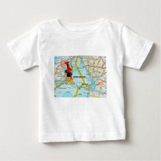 コペンハーゲン、デンマークのKøbenhavn ベビーTシャツ