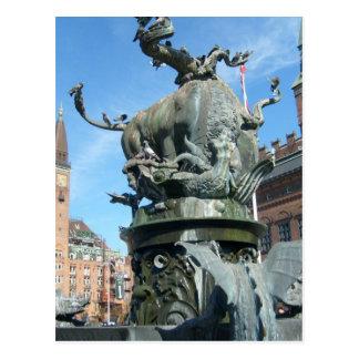 コペンハーゲン、デンマーク ポストカード