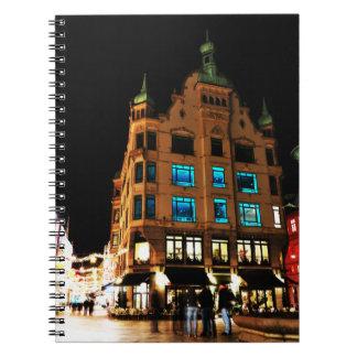 コペンハーゲン、夜のデンマーク ノートブック