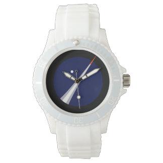 コペンハーゲンSuborbitalsのロゴのスポーティな腕時計 腕時計