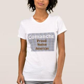 コマンチェ: 誇り高いネイティブアメリカン Tシャツ