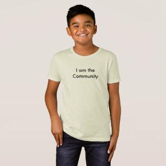 コミュニティおもしろいで皮肉な子供の学校のTシャツ Tシャツ