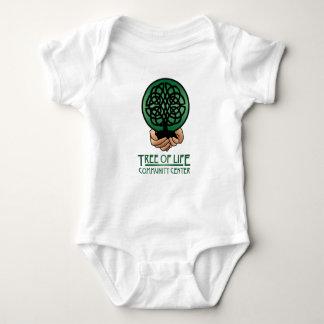 コミュニティー・センター赤ん坊のOnsieの生命の樹 ベビーボディスーツ