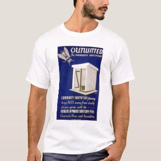 コミュニティ公衆衛生1940 WPA Tシャツ
