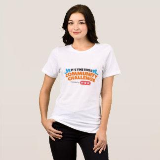 コミュニティ挑戦女性のTシャツ Tシャツ