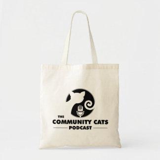 コミュニティ猫のトートバック トートバッグ