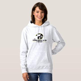 コミュニティ猫のポッドキャストのフード付きスウェットシャツII パーカ