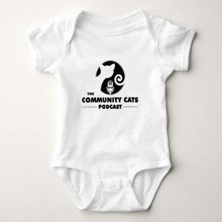 コミュニティ猫の赤ん坊の用品類 ベビーボディスーツ