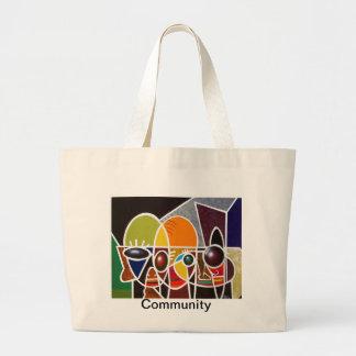 コミュニティ ラージトートバッグ