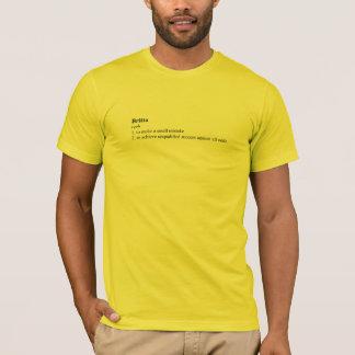 コミュニティ: Brittaの定義 Tシャツ