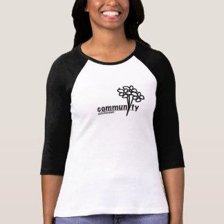 コミュニティ- unite4women tシャツ