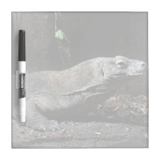 コモドオオトカゲの権利 ホワイトボード